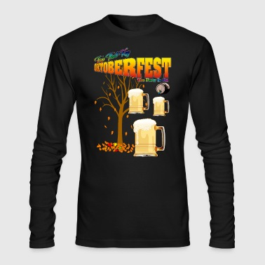 Tap That Keg II - Oktoberfest - Men's Long Sleeve T-Shirt by Next Level