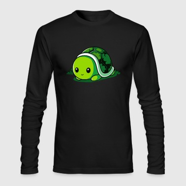 Lucky Turtle - Men's Long Sleeve T-Shirt by Next Level