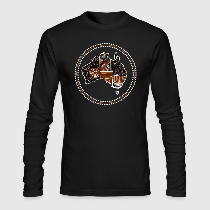 australia - Men's Long Sleeve T-Shirt by Next Level