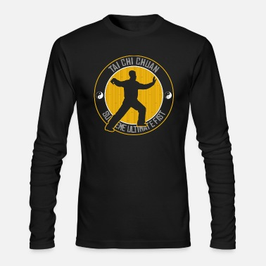 Tai Chi Tai Chi Chuan T'ai Chi Ch'uan Taijiquan - Men's Long Sleeve T-Shirt by Next Level