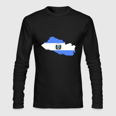 el salvador - Men's Long Sleeve T-Shirt by Next Level