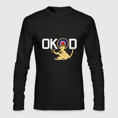 Coded OK-D of Royal Australian Air Force - RAAF - Men's Long Sleeve T-Shirt by Next Level