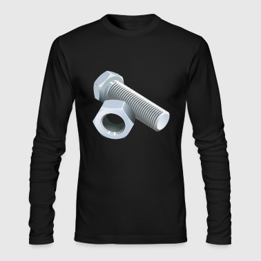 screw - Men's Long Sleeve T-Shirt by Next Level