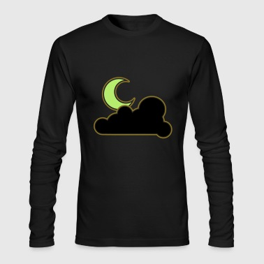 Half-moon Half moon - Men's Long Sleeve T-Shirt by Next Level