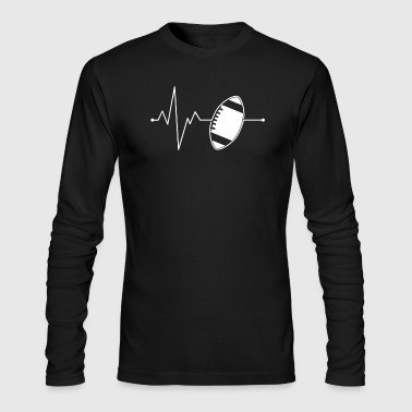 Football american football gift - Men's Long Sleeve T-Shirt by Next Level