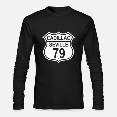 Cadillac 1979 Cadillac Seville - Men's Long Sleeve T-Shirt by Next Level