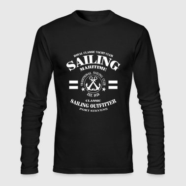 Maritime Sailing - Men's Long Sleeve T-Shirt by Next Level