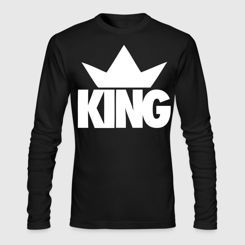 King Crown - stayflyclothing.com - Men's Long Sleeve T-Shirt by Next Level