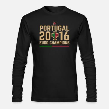 Euro Portugal Euro Champions 2 - Men's Long Sleeve T-Shirt by Next Level
