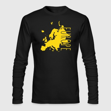 europe - Men's Long Sleeve T-Shirt by Next Level