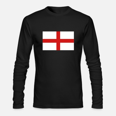 England England - Men's Long Sleeve T-Shirt by Next Level