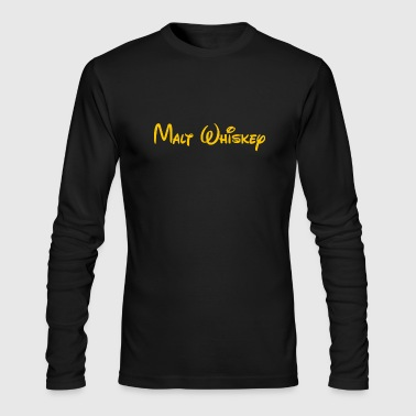 malt whiskey - Men's Long Sleeve T-Shirt by Next Level