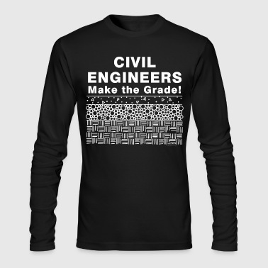 Make The Grade - Men's Long Sleeve T-Shirt by Next Level