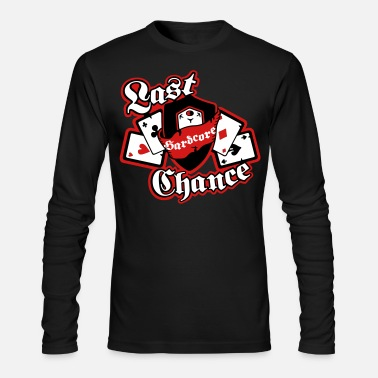 Poker Poker Cards and Aces High - Men's Long Sleeve T-Shirt by Next Level