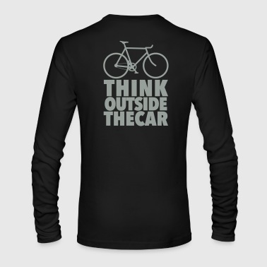 think outside the car - Men's Long Sleeve T-Shirt by Next Level