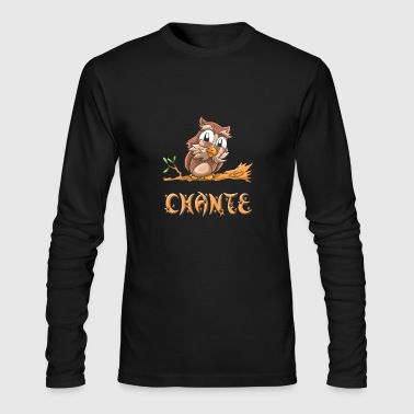 Chante Owl - Men's Long Sleeve T-Shirt by Next Level