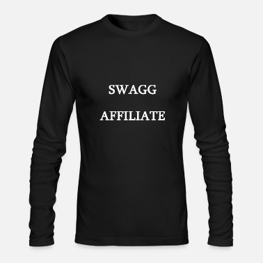 Swagg Swagg Affiliate White - Men's Long Sleeve T-Shirt by Next Level
