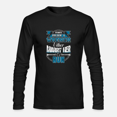 Mechanics Mechanic Mechanic Mechanic Marriage Gift - Men's Long Sleeve T-Shirt by Next Level