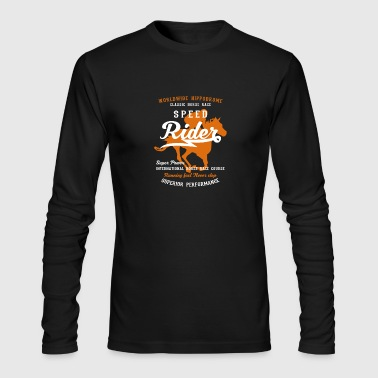 Speed Rider - Men's Long Sleeve T-Shirt by Next Level
