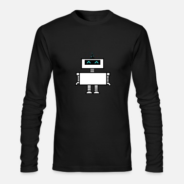 Futuristic Futuristic Robot - Men's Long Sleeve T-Shirt by Next Level