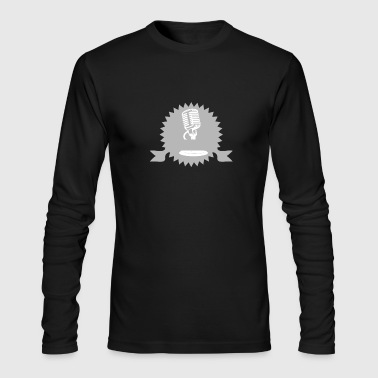 (Microphone) - Men's Long Sleeve T-Shirt by Next Level