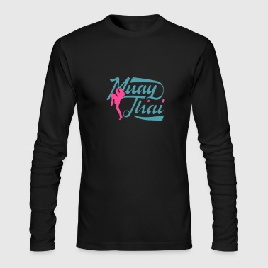 Muay Thai - Men's Long Sleeve T-Shirt by Next Level