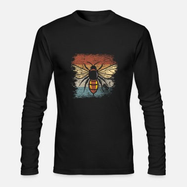 Bee Bee - Men's Long Sleeve T-Shirt by Next Level