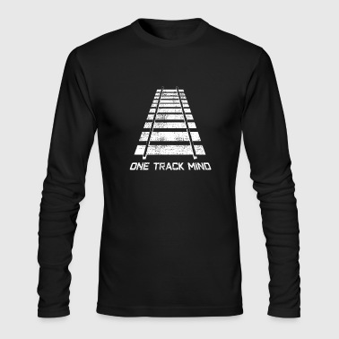 Model Railway - Men's Long Sleeve T-Shirt by Next Level
