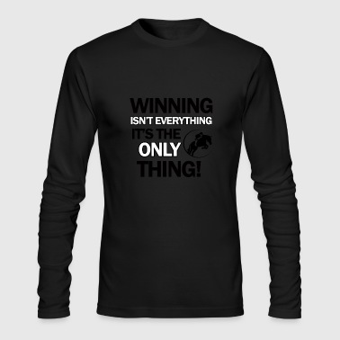 show jump design - Men's Long Sleeve T-Shirt by Next Level