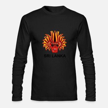 Sri Lanka Sri Lanka Mask - Men's Long Sleeve T-Shirt by Next Level