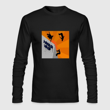 Signature Logo - Men's Long Sleeve T-Shirt by Next Level