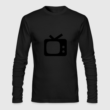 Television - Men's Long Sleeve T-Shirt by Next Level