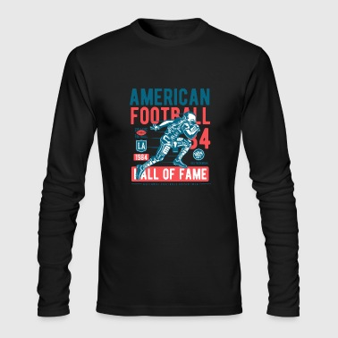 American Football - Men's Long Sleeve T-Shirt by Next Level
