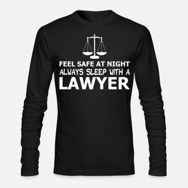 Safe Feel Safe At Night Always - Men's Longsleeve Shirt