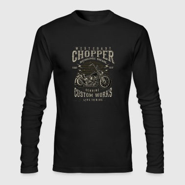 Chopper - Men's Long Sleeve T-Shirt by Next Level