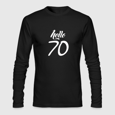 70s Hello 70 - Men's Long Sleeve T-Shirt by Next Level