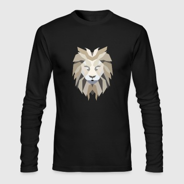 Lion - Men's Long Sleeve T-Shirt by Next Level