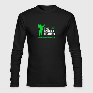 Channel The Gorilla Channel - Men's Long Sleeve T-Shirt by Next Level