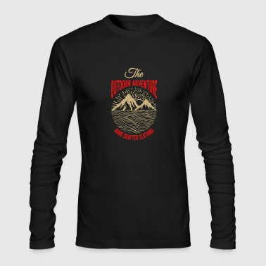 The outdoor adventure - Men's Long Sleeve T-Shirt by Next Level