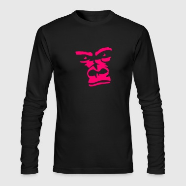 Ape Face Ape face Gorilla - Men's Long Sleeve T-Shirt by Next Level