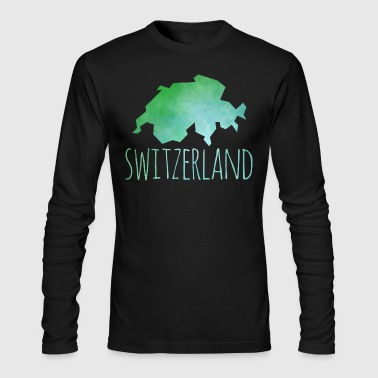 switzerland - Men's Long Sleeve T-Shirt by Next Level