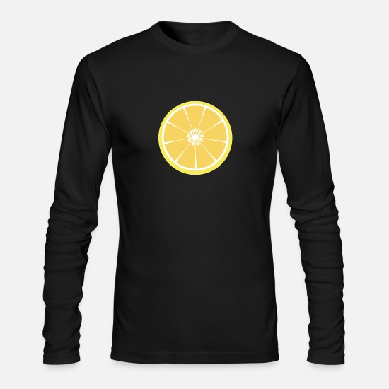 Collection Long-Sleeve Shirts - lemons - Men's Longsleeve Shirt black