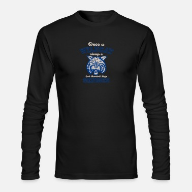 East Once a WILDCAT always a East Marshall High SENIORS - Men's Long Sleeve T-Shirt by Next Level