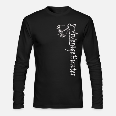 Average Bow Hunter - Men's Long Sleeve T-Shirt by Next Level