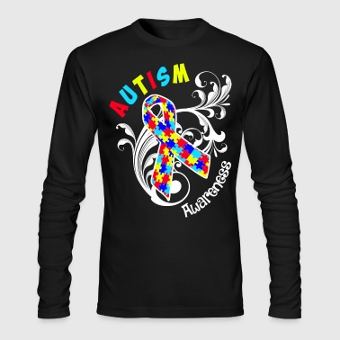 Autism Awareness - Men's Long Sleeve T-Shirt by Next Level