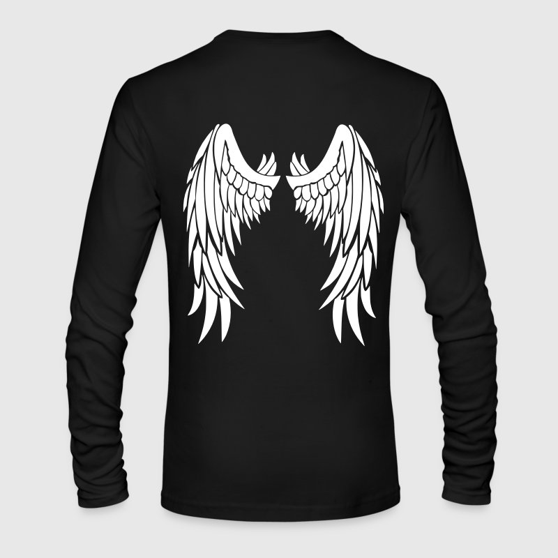 Angel Wings - Men's Long Sleeve T-Shirt by Next Level