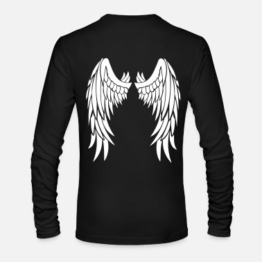 Wings Angel Wings - Men's Long Sleeve T-Shirt by Next Level