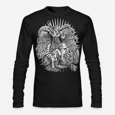 Archangel Michael - Men's Longsleeve Shirt