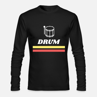 Drum Drum - Men's Long Sleeve T-Shirt by Next Level