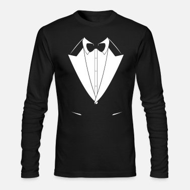 Suit Tuxedo Suit Design - Men's Longsleeve Shirt